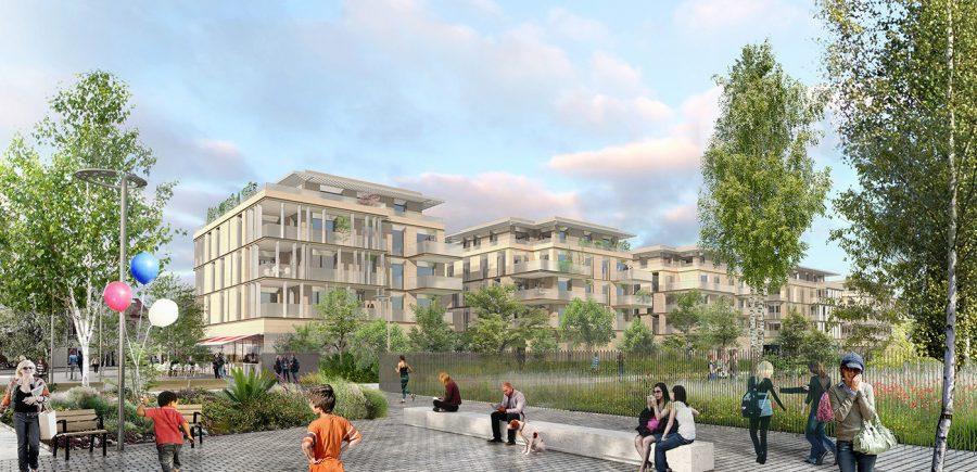 """L'écoquartier """"Le Jardin des Facultés"""" : un projet urbain à taille humaine"""