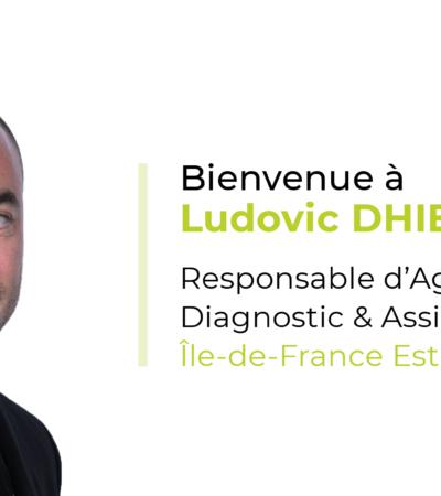 Ludovic Dhier nouveau Responsable d'Agence Diagnostic & Assistance Île-de-France Est de Citae