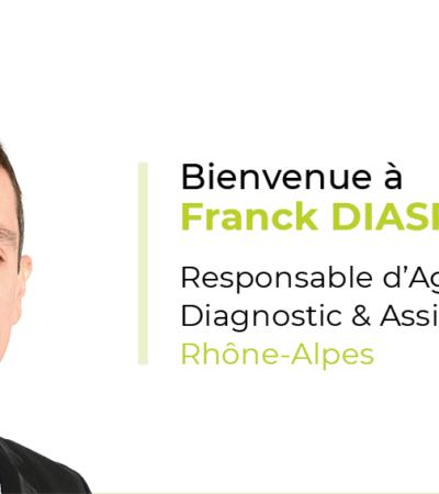 Franck Diasparra nouveau Responsable d'Agence Diagnostic & Assistance Rhône-Alpes de Citae
