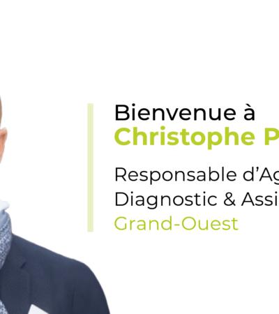 Christophe Philipot nouveau Responsable d'Agence Diagnostic & Assistance Grand-Ouest