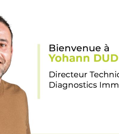 Yohann Dudouit nouveau Directeur Technique Diagnostics Immobiliers