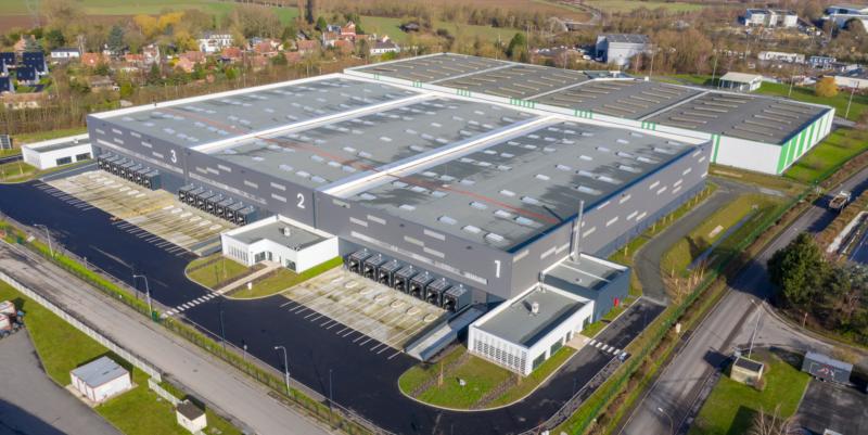 Un entrepôt certifié BREEAM Very Good au coeur du plus grand port de Lille