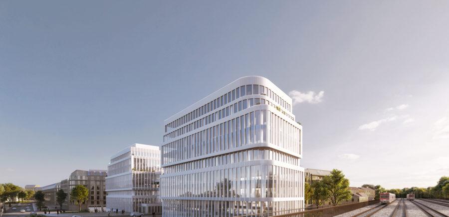 Clichy   Deux immeubles de bureaux certifiés HQE et BREEAM